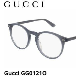 GUCCI dark gray wayfarer sunglasses